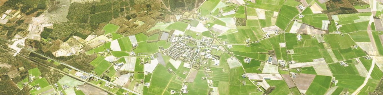 Luchtfoto Salland Haarle